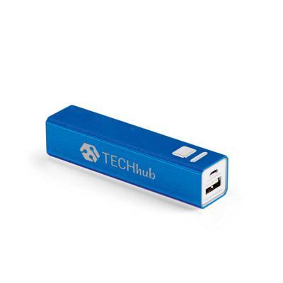 Italy Brindes - Bateria portátil. Alumínio. Bateria de lítio. Capacidade: 1.800 mAh. Tempo de vida = 500 ciclos. Com entrada/saída 5V/1A. Incluso cabo USB/micro USB p...