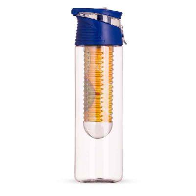 Clark Brindes e Presentes Promocionais - Squeeze Personalizado Plástico 700ml com Infusor e com alça acoplada