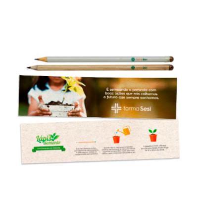 MarkhaBrasil Brindes Personalizados - Lápis Semente