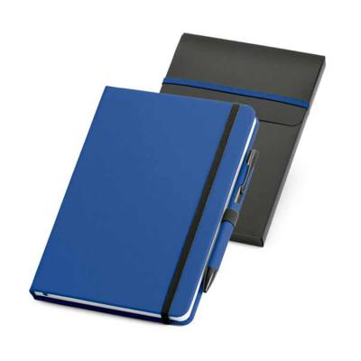 MarkhaBrasil Brindes Personalizados - Caderno em couro sintético com caneta