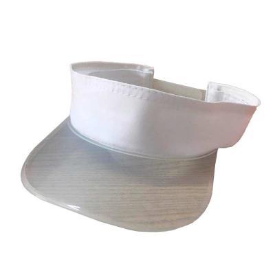 Unictech Brindes Promocionais - Viseira transparente com tecido personalizada