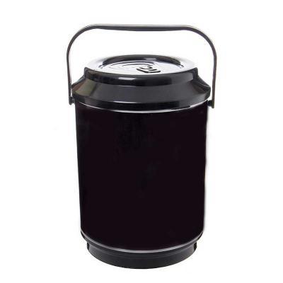 Unictech Brindes Promocionais - Cooler produzido em PP parede dupla com capacidade para 10 latas  Dimensões: 310 mm de altura x 220 mm de diâmetro  Transporte: Através de alça de mão...