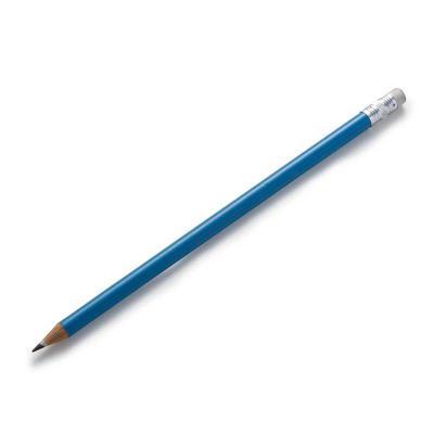 Salluz Brindes - Lápis resinado colorido com borracha e grafite preto