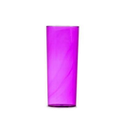 Salluz Brindes - Copo long drink 330ml em acrílico translúcido