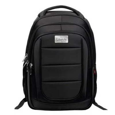 Libelula Express - 2 compartimentos 2 bolsos frontais 2 bolsos laterais Telados Compartimento principal com repartição acolchoada para Notebook e ziper com cursor duplo...