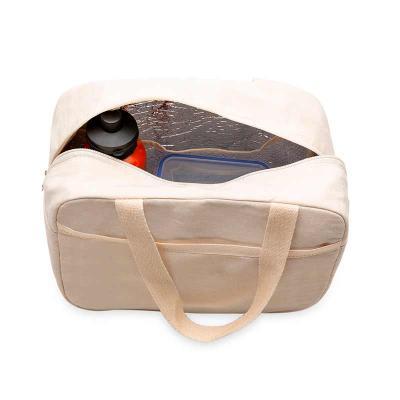 All Creative - Bolsa térmica de algodão com capacidade de 9 litros, possui bolso externo e um bolso interno telado. Med.  Altura :  20 cm Largura :  30 cm Profundida...