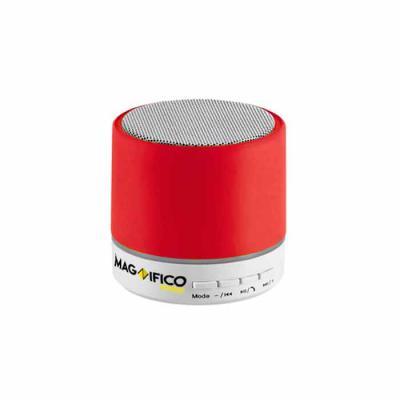 Magnifico Brindes - Caixa de som com microfone