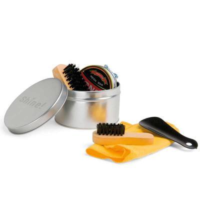 Âncora Brindes - Kit de limpeza de sapatos