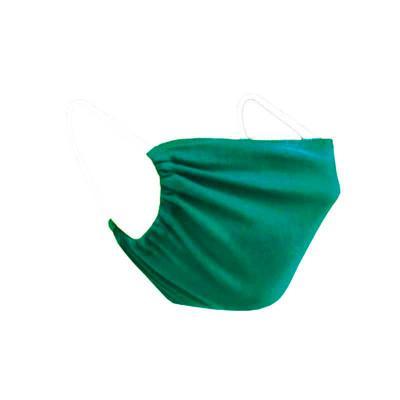 Grupo M - Máscara de tecido verde