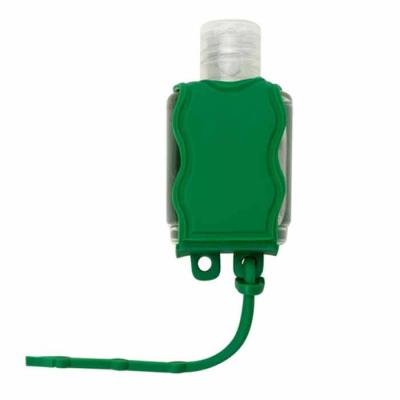 Impacta Print Brindes e Presentes - Chaveiro porta álcool gel, material emborrachado com capacidade para frasco de 35ml ou 60ml  Altura :  6,5 cm  Largura :  3,7 cm  Medidas aproximadas...