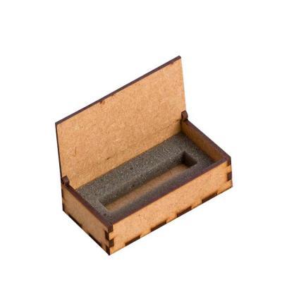 Brindara Brindes - Caixinha em MDF para pen drive. Pode ser pintado com tinta acrílica, PVA ou tinta a base de água. Produto em Madeira MDF crua, desenvolvida de forma a...