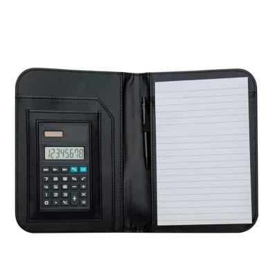 Brindara Brindes - Bloco de Anotações com Calculadora e Caneta