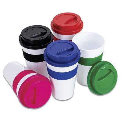 Lemon Brindes - Copo plástico 480ml com tampa. Produzido em polipropileno e livre de BPA, o copo possui uma luva de silicone (removível) que impede a transferência de...