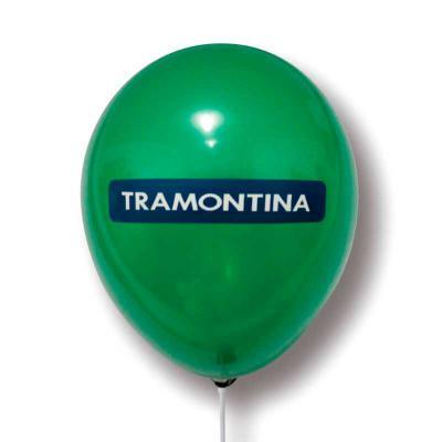 """Print Balloon - Balões Personalizados - Balões de Látex Personalizados - tamanho 9"""" - Impressão em até 05 cores."""