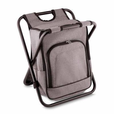 Ideal Gift - Bolsa térmica 10 litros com conversão em cadeira. Bolsa confeccionada em nylon, possui compartimento principal térmico e um bolso frontal. Armação de...