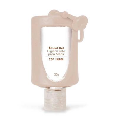 Ideal Gift - Álcool Gel hidratante e higienizante para mãos com microesferas de Vitamina e Aloe Vera Formulação antisséptica enriquecida com microesferas contendo...