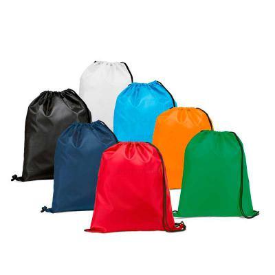 Lesan Brindes e Produtos Promocionais - Mochila saco em tnt com alças ajustáveis. Opção de variadas cores. Medidas aproximadas para gravação (CxL): 38 cm x 33 cm Tamanho total aproximado (Cx...