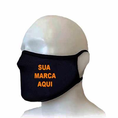 Rio4Pack Brindes - Máscara de Tecido 100% algodão com camada dupla proteção e personalizada com as suas cores e sua marca.