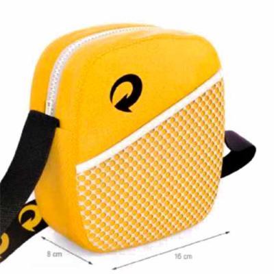 Rio4Pack Brindes - Shoulderbag Personalizada com bolso frontal.
