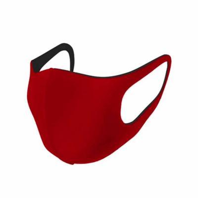 Rio4Pack Brindes - Máscara anatômica reutilizável, produzida em duas camadas de poliéster e uma camada filtrante em material esponjoso de poliuretano de 3mm.
