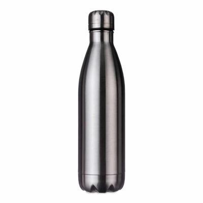 Rio4Pack Brindes - Garrafa térmica 780ml em inox de alta qualidade. Possui tampa rosqueável com detalhe superior em relevo, pode ser utilizada com líquidos quentes ou fr...