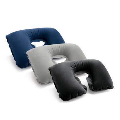 Digital Brinde - Almofada de pescoço. PVC aveludado. Fornecida em bolsa. Vazio: 425 x 275 mm | Bolsa: 175 x 115 mm