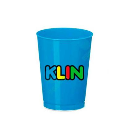 Digital Brinde - Copo personalizado infantil com capacidade de 300 ml, boa variedade de cores, com bom acabamento o copo é fabricado em PP e possui boa área para impri...