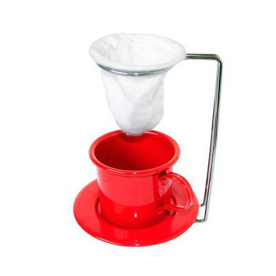 Digital Brinde - Kit café na xicara - vermelho