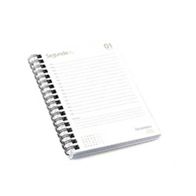 Gis Mascotes e Brindes Corporativos Personalizados - Miolo de agenda diária com 352 paginas. Sendo: pag iniciais ( abertura - 2 pg; dados pessoas - 1 pag; calendários - 3 pag; planejamento - 6 pag). Diár...