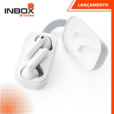 Inbox Brindes - Fones de ouvido wireless RUBIN WH