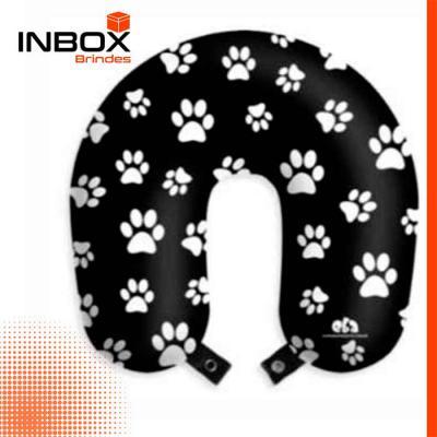 Inbox Brindes - Almofada de pescoço com botão