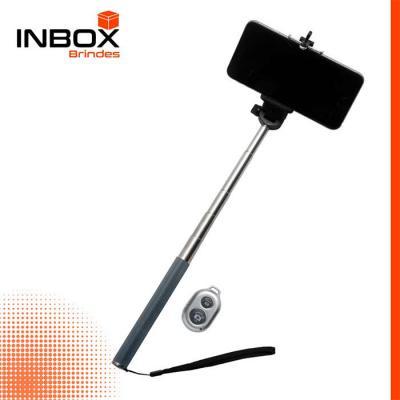 Inbox Brindes - Bastão de Selfie Bluetooth