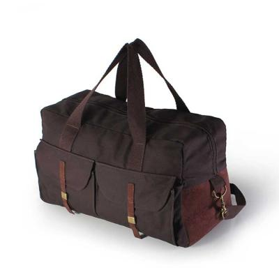 Inbox Brindes - Mala viagem em polyester 600 com bolsos frontal e detalhe em sintético com alça para mão e ombro - dimensões: comprimento: 45cm x altura: 28cm x largu...