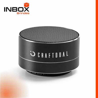 Inbox Brindes - Caixa de som com microfone FLOREY