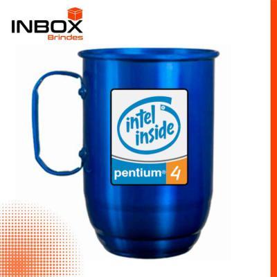 Inbox Brindes - Caneca em Alumínio 850 ML
