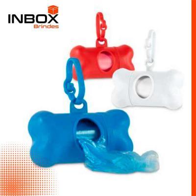 Inbox Brindes - Kit de higiene para cachorro. PP. Contém 20 sacos em PE. Porta-saco: 82 x 48 x 41 mm Fechada: 111 x 21 x 15 mm