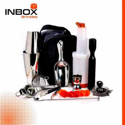 Inbox Brindes - Kit Bartender Básico 18 peças