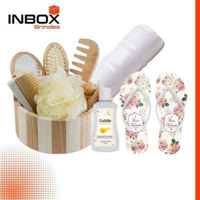 Inbox Brindes - Kit Spa Inbox