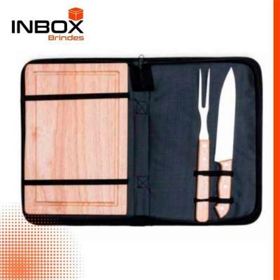 Inbox Brindes - Kit Churrasco 03 Peças