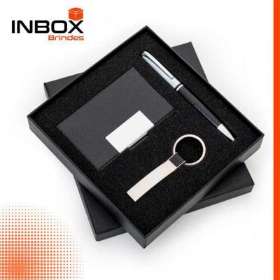 Inbox Brindes - Kit Executivo 3 Peças