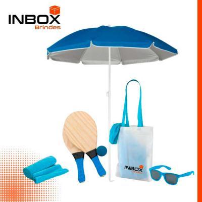 Inbox Brindes - Kit Praia Inbox