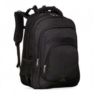 Inbox Brindes - Mochila de alta confecção em poliéster com detalhes em nylon. Com amplo espaço, possui compartimento grande com bolso para notebook até 15.6 polegadas...