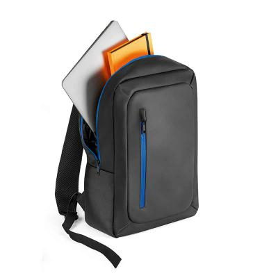 Inbox Brindes - Mochila para notebook. Poliéster 600D impermeável. Compartimento principal almofadado para notebook até 15.6''. Bolso frontal. Zípers impermeáveis. Bo...
