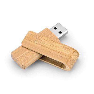 Inbox Brindes - Pen drive. Bambu. Capacidade: 8GB. 59 x 19 x 12 mm