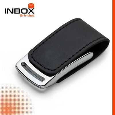 Inbox Brindes - Pen Couro New 4GB