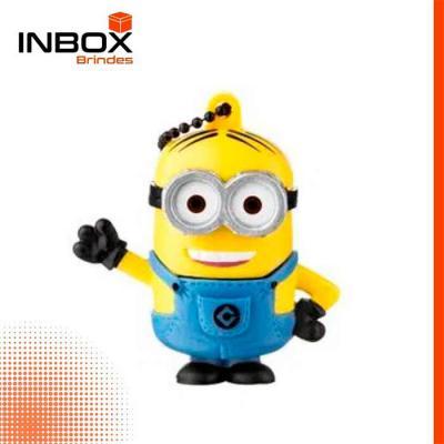 Inbox Brindes - Pen Drive Minions Dave 8GB