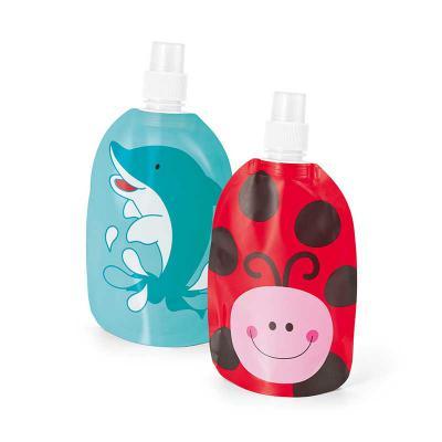 Inbox Brindes - Squeeze dobrável. PA e PE. BPA free. Capacidade até 350 ml