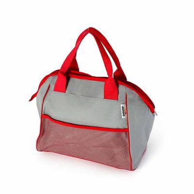 Inbox Brindes - Bolsa térmica em polyester 600 com alça de mão e ombro com fechamento em zíper - dimensões: comprimento: 35cm x altura: 30m x largura: 12cm (capacidad...