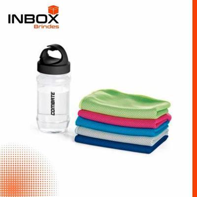 Inbox Brindes - Toalha para esporte em poliamida e poliéster