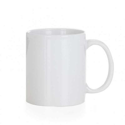 More Gifts - Caneca cerâmica de 300ml branca, ideal para sublimação. Tamanho total aproximado  (CxL):  9,7 cm x 11,5 cm Peso aproximado (g):  326